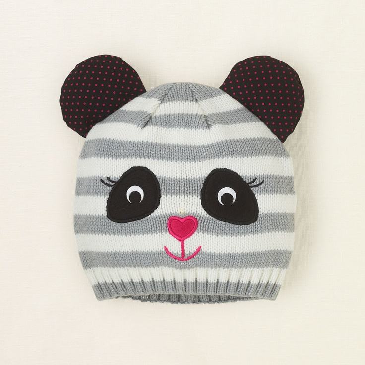 Baby Girls Panda Hat - Milk - The Children s Place e6ff80889c3