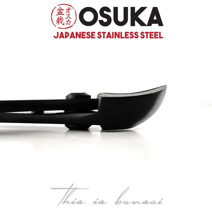 • OSUKA Bonsai Spherical Branch Cutters (Round head branch cutters) • Length – 205mm • Finish – Black • Material – High Quality Japanese Stainless Steel