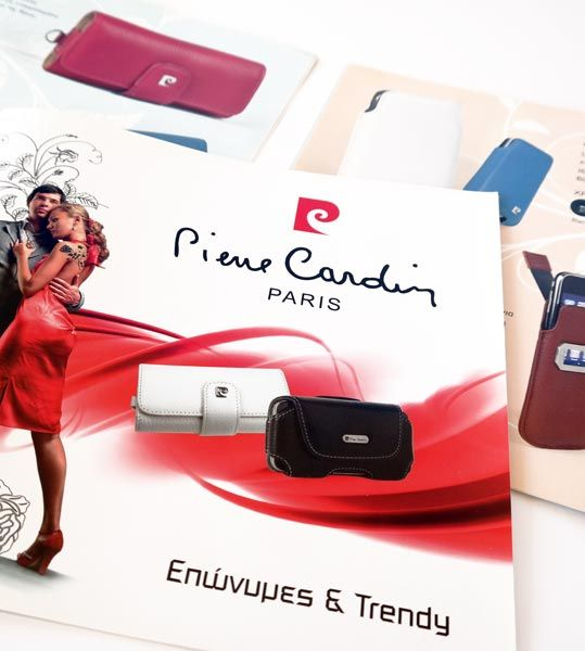 ThinkBAG assigned the Re-branding of Pierre Cardin in Europe and the strategic marketing for its business expansion. We redesigned the corporate image of Pierre Cardin Brand and engaged the new advertising and communication materials of the company.  The whole project comprises of: Website  | Corporate ID | Advertising Brochures | Photography | International Exhibition's displays  | Newsletter campaigns | New Packaging