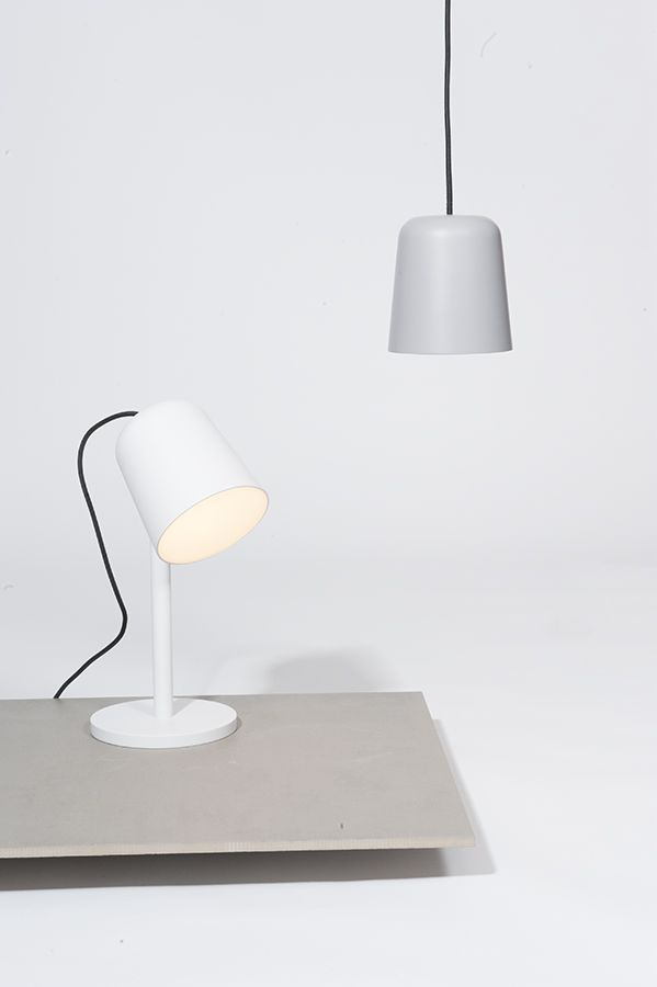 Beech lamp is a minimalist design created by denmark based designer madebywho the light comes in either a pendant or table lamp form and is available in