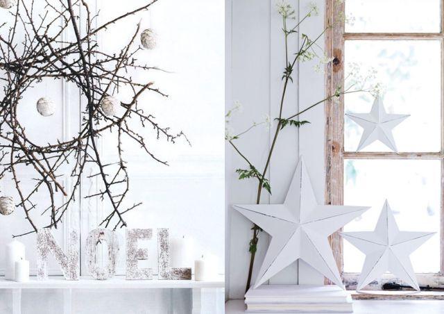 20 inspirations pour une déco de Noël aux teintes naturelles