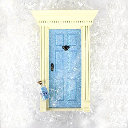Blue sparkle little fairy door sparkle fairy doors and for The little fairy door