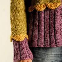 Muslingejakke/ GRATIS OPSKRIFT free pattern jacket