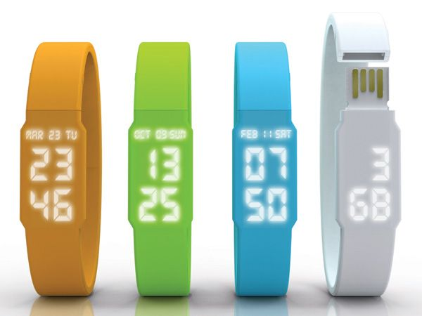 USB watch Stocking stuffer!