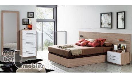 Dormitorio con canapé abatible Olimpo 21