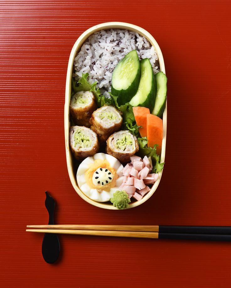キャベツの肉巻き弁当 / Pork & Cabbage Rolls Bento お弁当を作ったら #edit_jp で投稿してね!