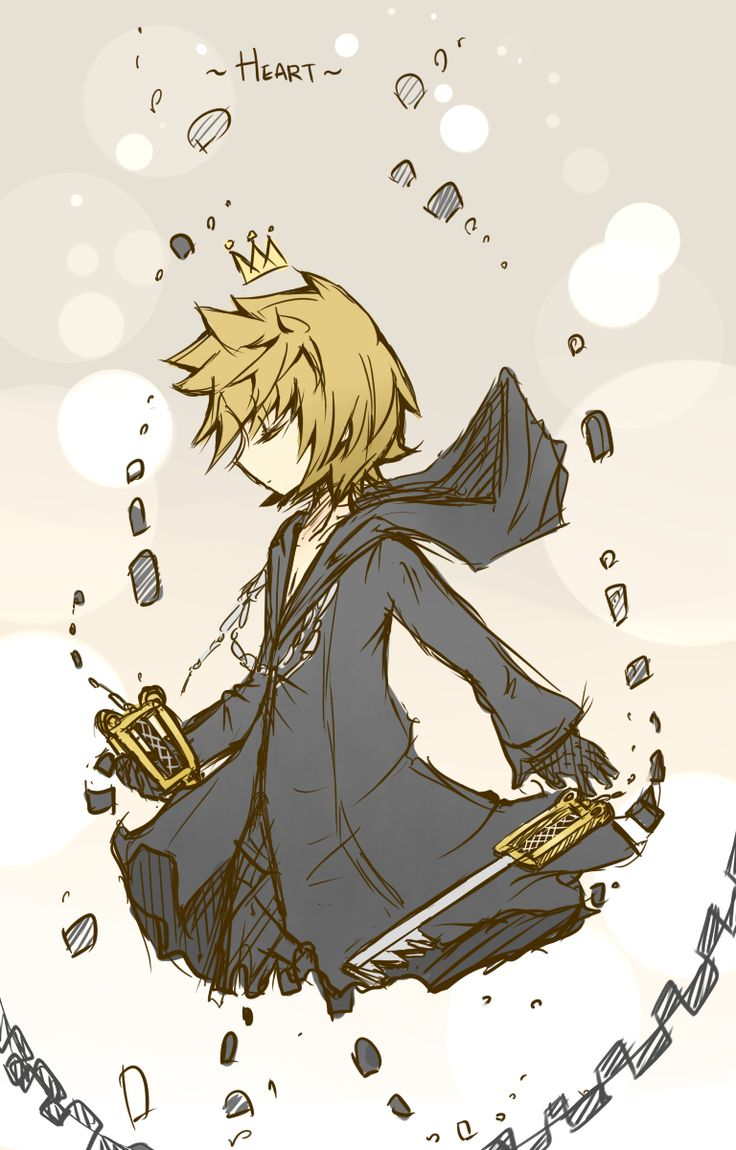KH - roxas sketch by peachmomo.deviantart.com on @deviantART