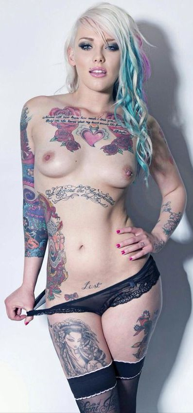 tattoos and titties
