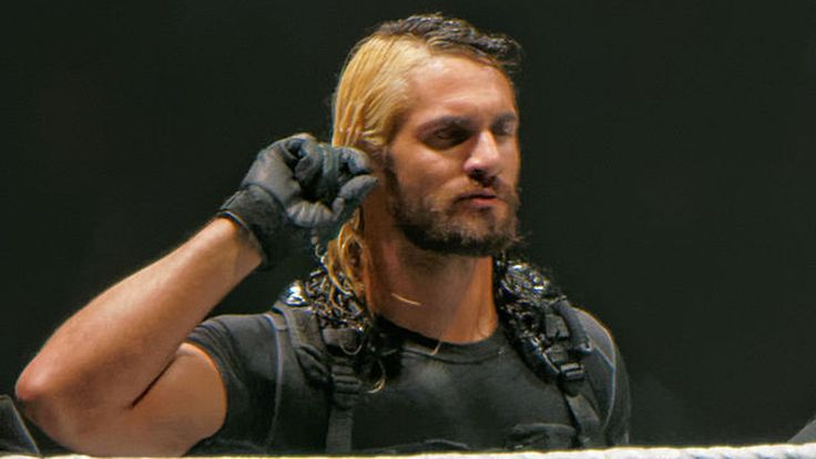 Seth Rollins explains blonde streak in his hair - Cageside Seats