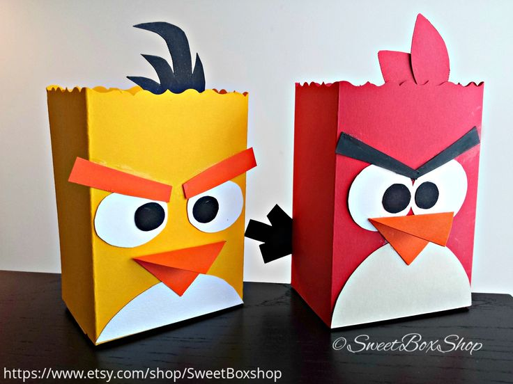 Angry Birds Treat Boxes