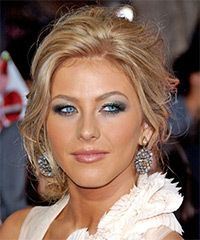 Julianna Hough Hairstyle: Formal Updo Long Curly Hairstyle