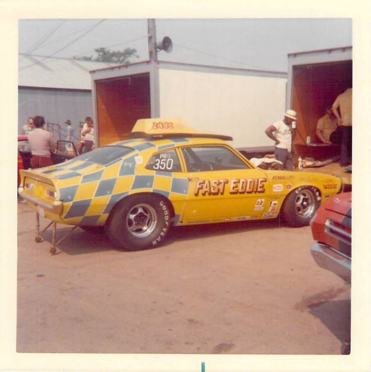 Old Drag Race Car Pictures
