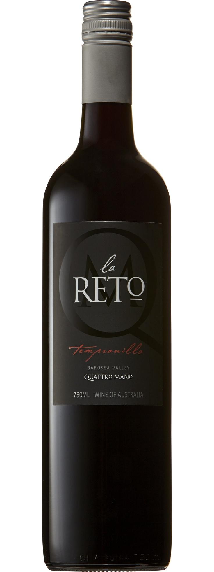 Quattro Mano La Reto Tempranillo   Dan Murphy's   Buy Wine, Champagne, Beer & Spirits Online