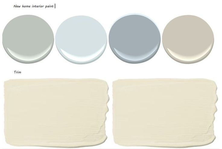 Walls: Benjamin Moore Tranquility, Constellation, Solitude and Revere Pewter Trim: Sherwin Williams Muslin