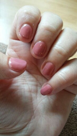 Just tried out my new Sensationail kit - mauve maven, can't believe how easy was this was to do. No more expensive trips to the salon for shellac!