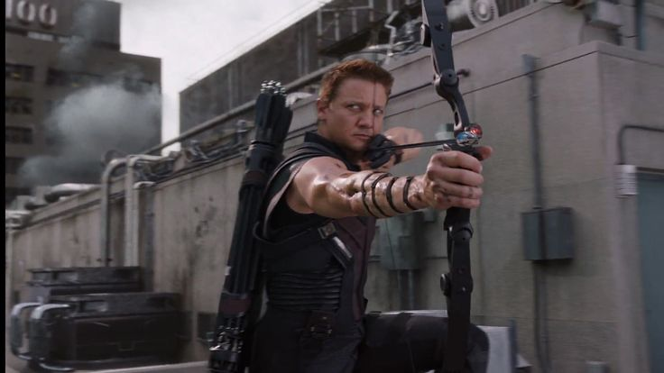 In Marvels The Avengers (2012) Joss Whedon wanted to show Hawkeye being the best archer by not having him look towards the arrow.