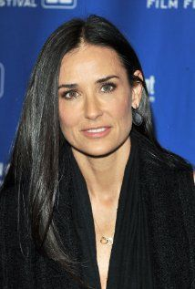 DEMI MOORE ~ Born: November, 1962 in Roswell, NM. Birth Name: Demetria Guynes. Married: Freddy Moore [80-85]; Bruce Willis [87-2000]; Ashton Kutcher [2005-2013]. Children: 3 ~ Rumer; Scout; Tallulah Willis. Movies: G.I. Jane; Ghost; Indecent Proposal; A Few Good Men; St. Elmo's Fire; The Juror; among many more. Age: 51.