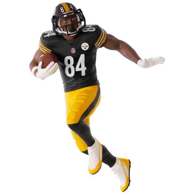 NFL Pittsburgh Steelers Antonio Brown Ornament