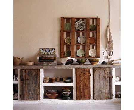 31 best Cocinas de obra images on Pinterest | Rustic kitchens ...