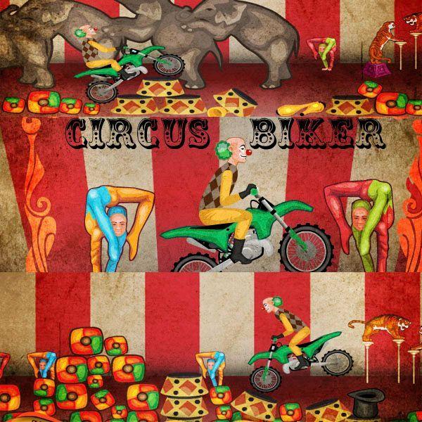 jocuri-Circus Biker