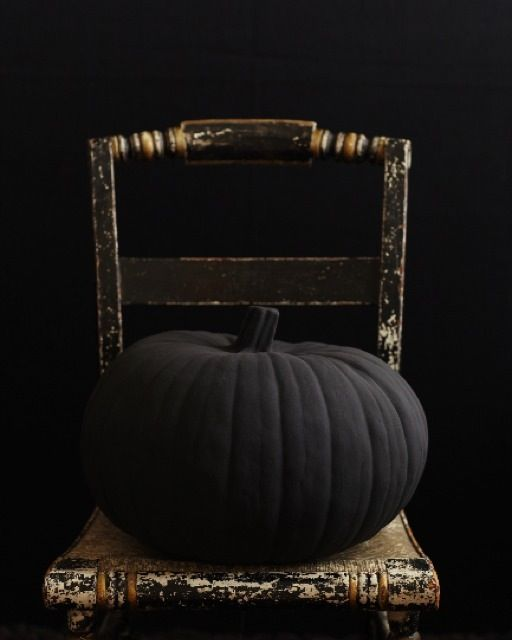 Sweet Paul's Big & Black Pumpkin #halloween