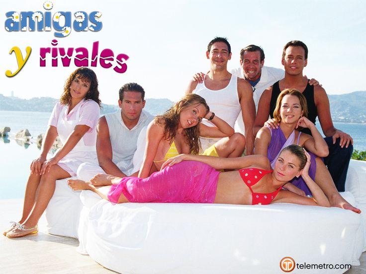 Amigas y Rivales (Mexico 2001) - Michelle Vieth, Ludwika Paleta, Angélica Vale, Adamari López, Joana Benedek, Arath de la Torre, Eric Del Castillo