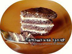 Шоколадно-шоколадный торт (без отрубей) по Дюкану/ ХИТ!   Татошкина кухня