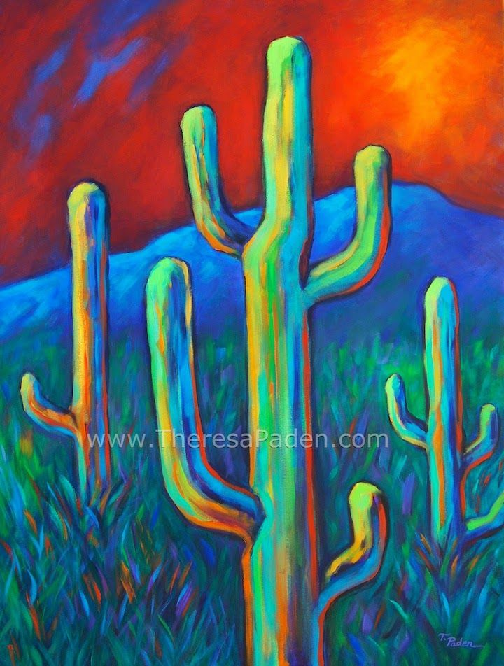 17 best images about cactus paintings 3 on pinterest