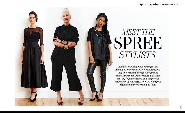 Spree Magazine #spreestylist #zanelekumalo