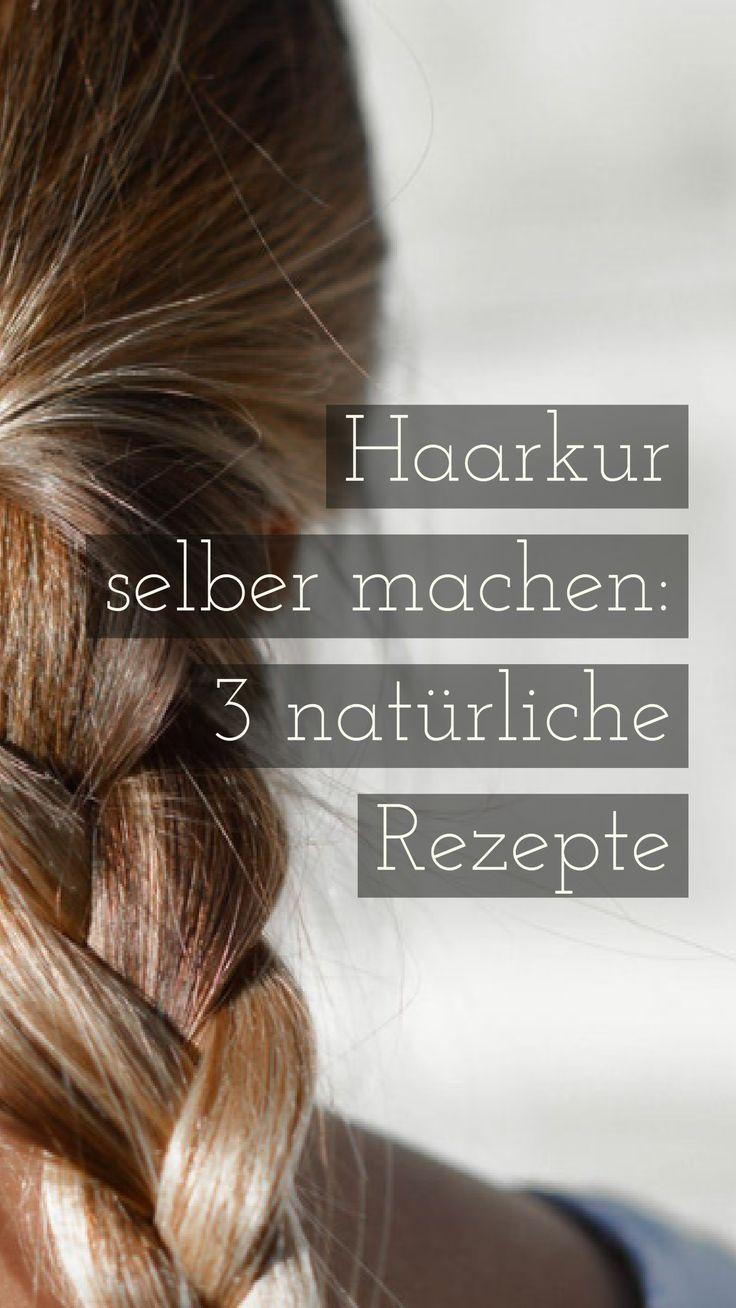 Haarkur selber machen: 3 natürliche Rezepte