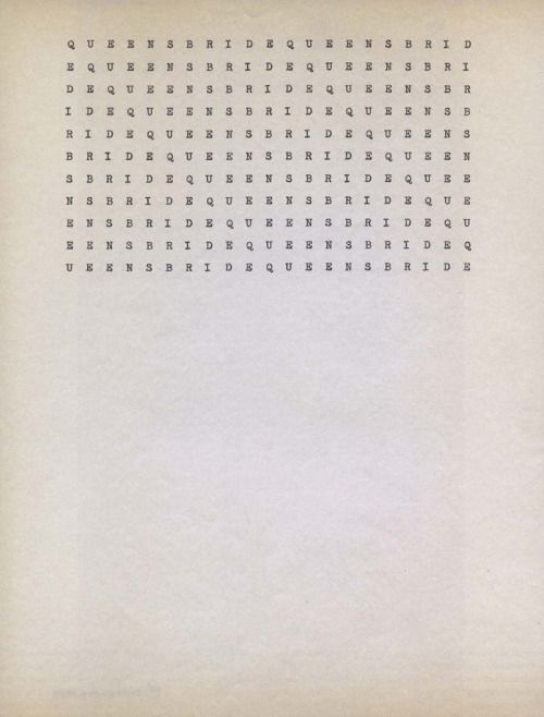 """paintedout: """"Carl Andre """""""