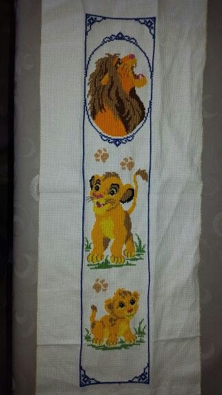 Lionking embroidery