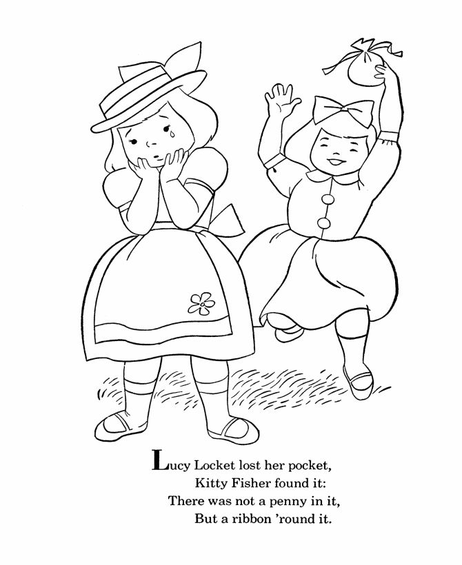 25 best Nursery Rhyme Project images on Pinterest  Colouring
