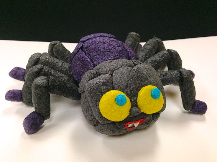 Spooky Spider made with Magic Nuudles!