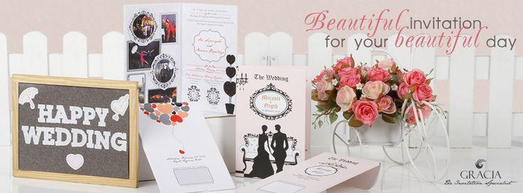 Undangan Pernikahan Gracia Theinvitation - http://www.theinvitation.co.id