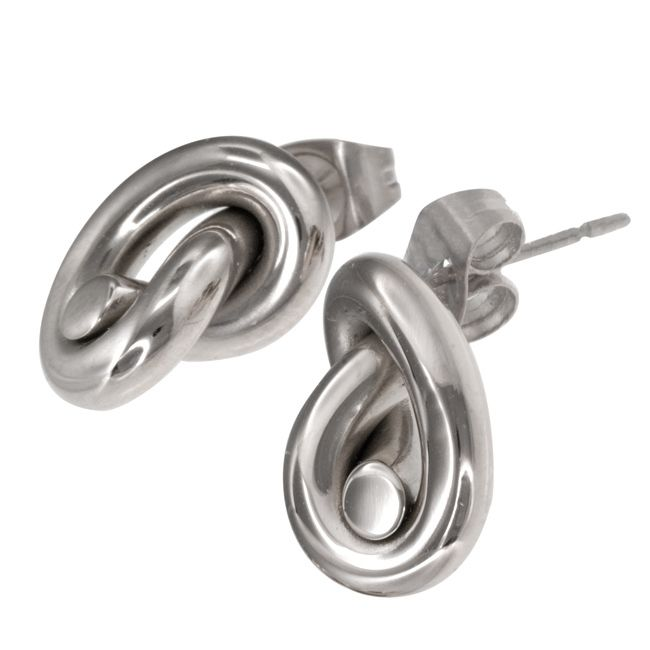 Ingnell Jewellery - Ella stud steel. Stainless steel. www.ingnelljewellery.com