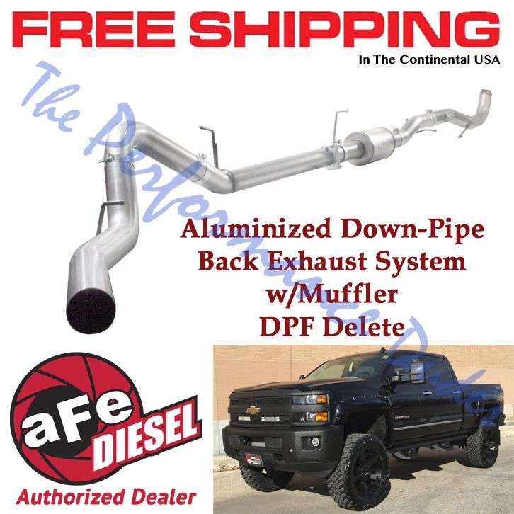 Same Business Day Shipping Afe 4 Atlas Exhaust 2011 2015 Chevy
