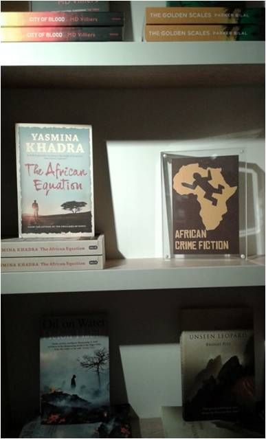 The African Equation at Foyles Charing Cross.