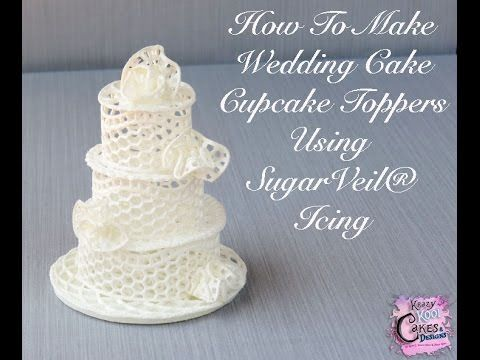 how to make wedding cake icing recipe how to make wedding cake cupcake toppers using sugarveil 16037
