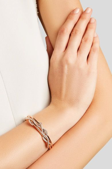 Tiffany & Co. - Double Infinity 18-karat Rose Gold Diamond Cuff