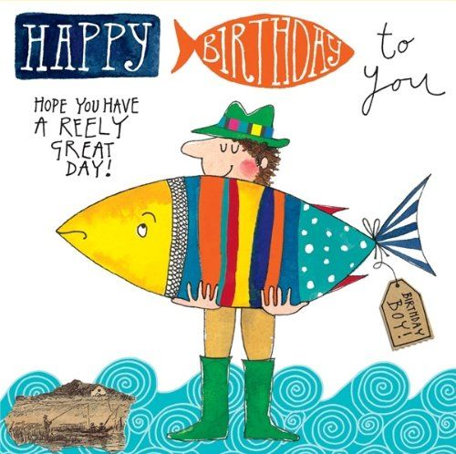 464 best images about thank u card and cards on pinterest for Fishing birthday wishes