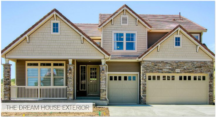 St. Jude Dream Home in Castle Rock, CO built by Oakwood Homes. #FrontDoor #Blog
