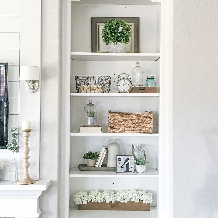 Built In Bookshelf Rustic Farmhouse Bookshelf Decor Ig Sincerelystephanie3 Shelf Decor Living Room Bookshelves In Living Room Farmhouse Bookshelf
