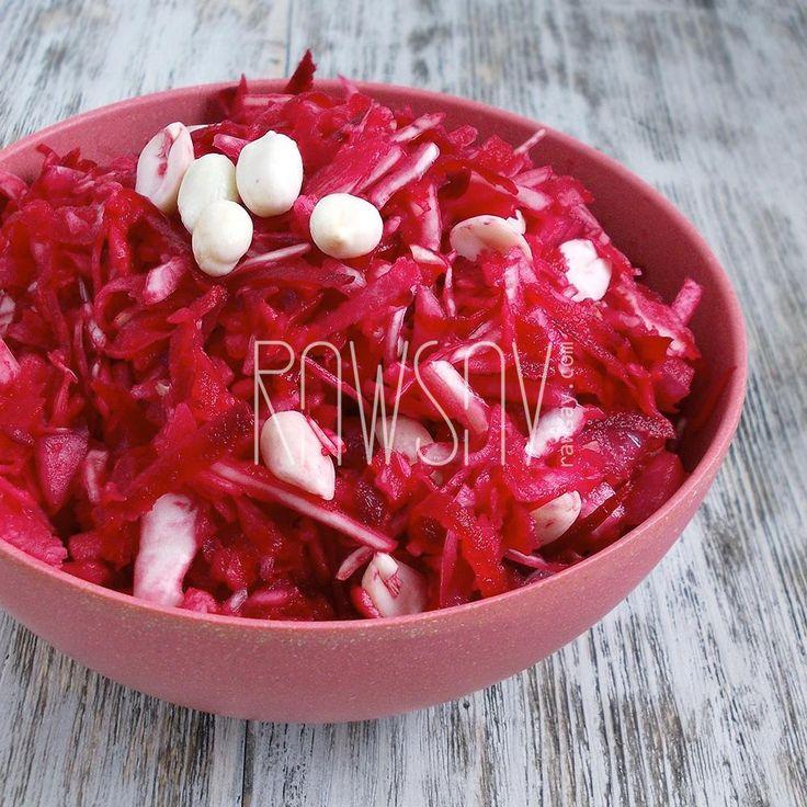 Салат из капусты и свеклы - Сыроедение, рецепты и диеты - Rawsay