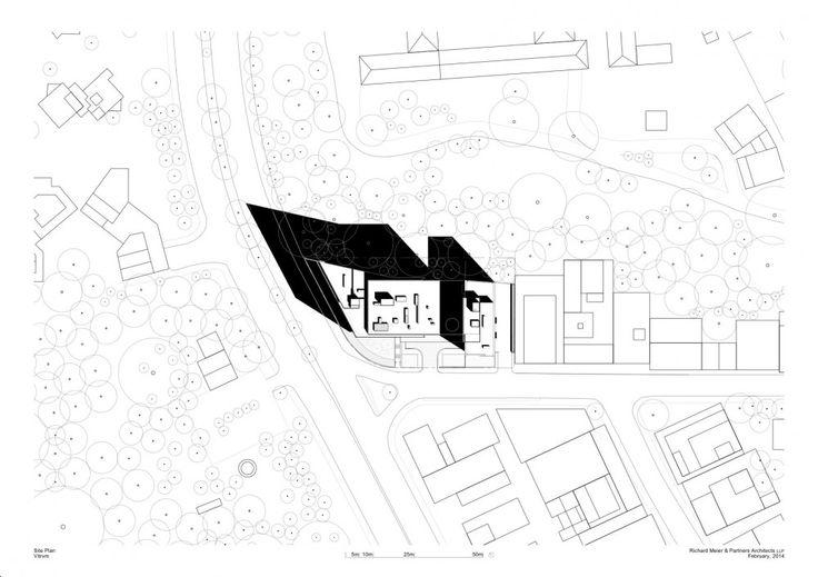 gallery of richard meier designs two