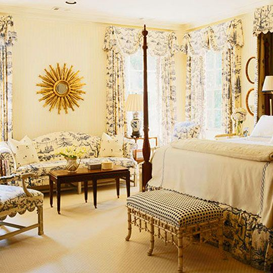 Bedroom Decorating Ideas Totally Toile: 202 Best Toile Love Images On Pinterest