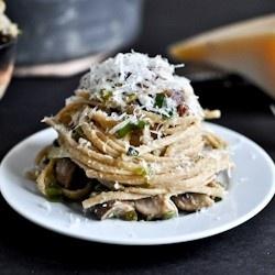 Portobello and Leek Carbonara | For The Foodies | Pinterest ...