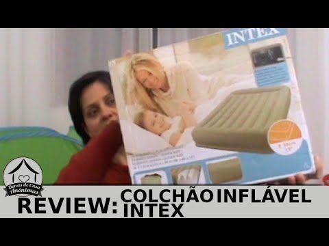 Colchão Inflável Intex - Review