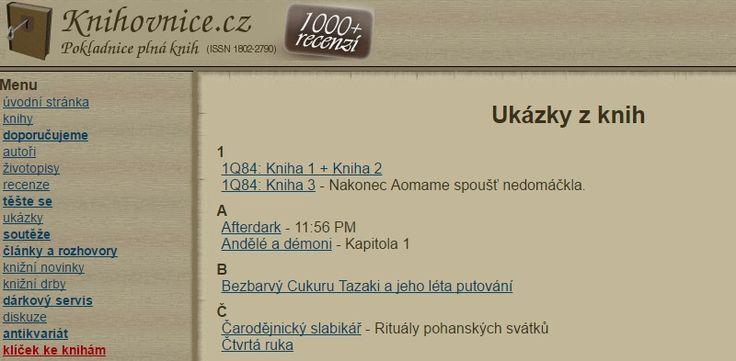 Ukázky z knih | Knihovnice.cz