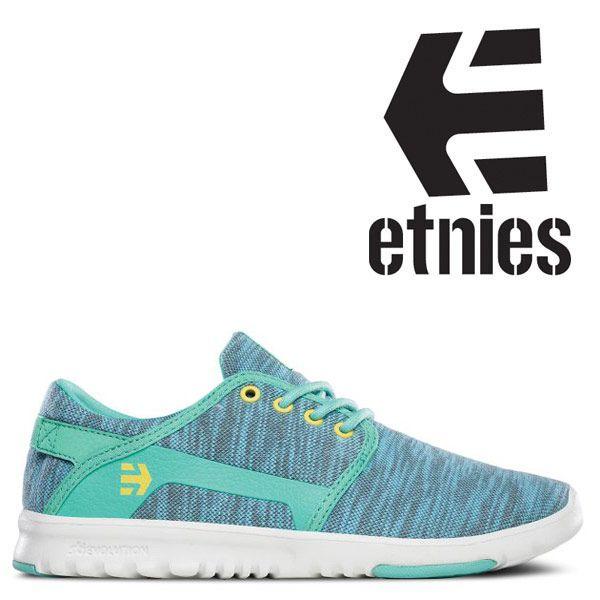 Etnies Scout Women's Skate Shoe - Teal